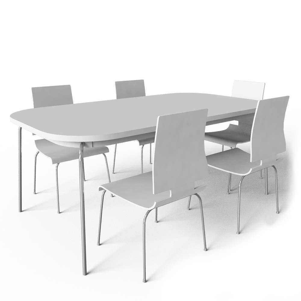 Cad and bim object grimle table and 5 chairs ikea for High table and chairs ikea