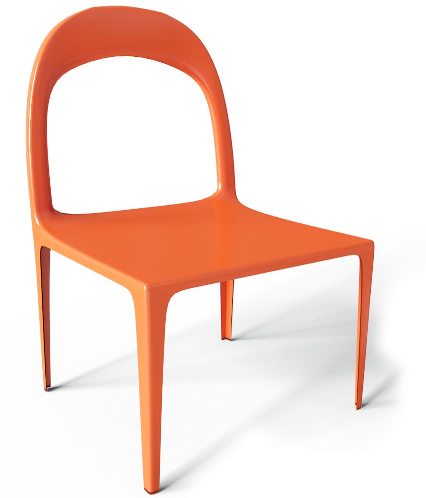 Urban Chair  3D View