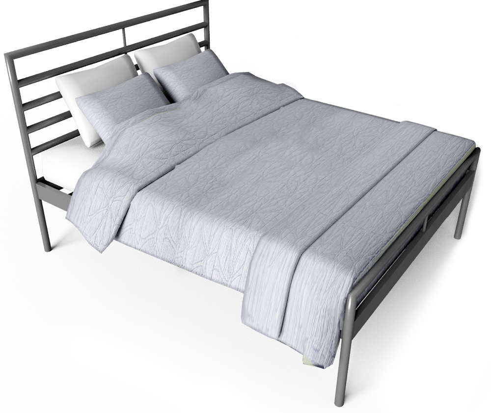 Heimdal Bed 160x200  3D View