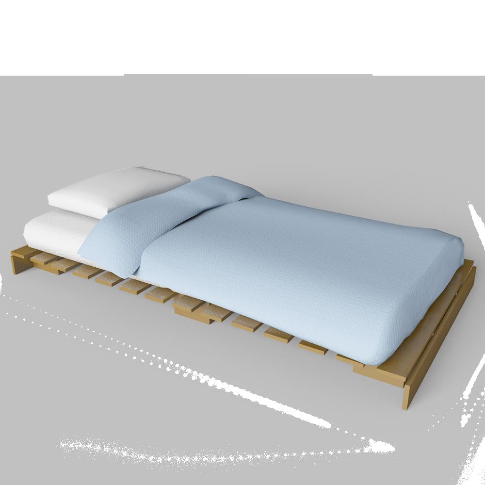 Cad And Bim Object Grankulla Futon Single Bed Ikea