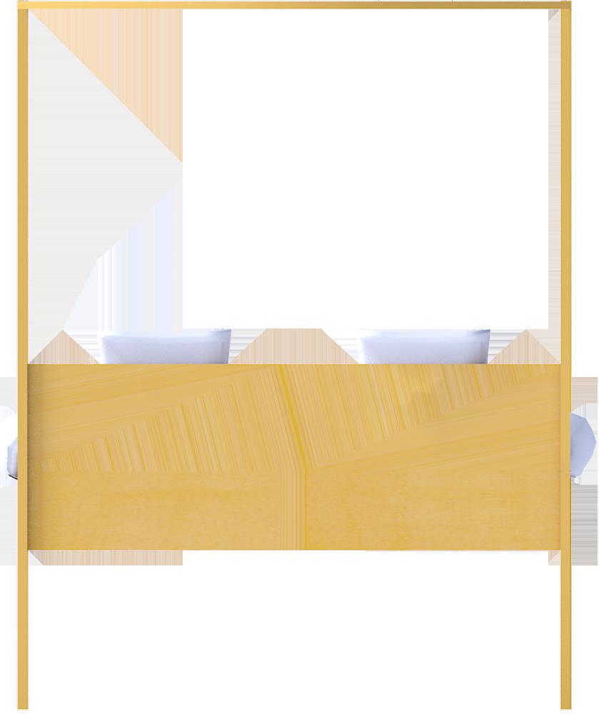 Hemnes Bed 160  Back