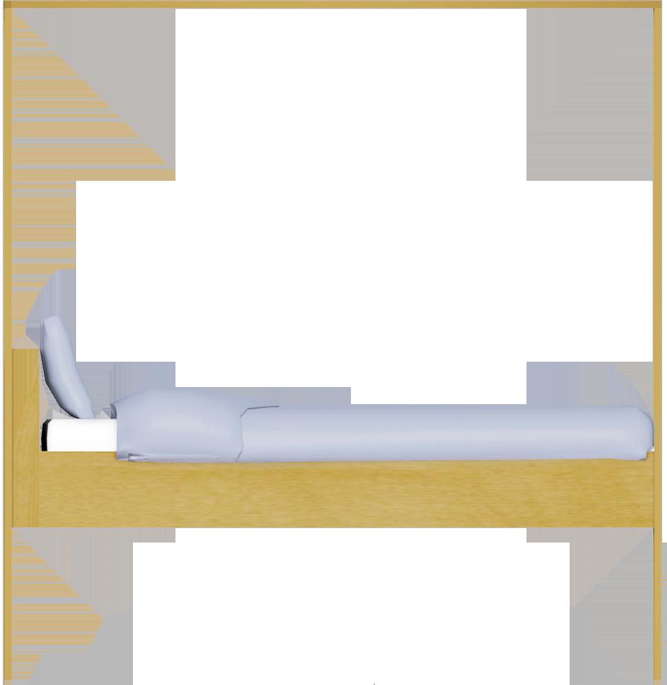 Hemnes Bed 160  Left
