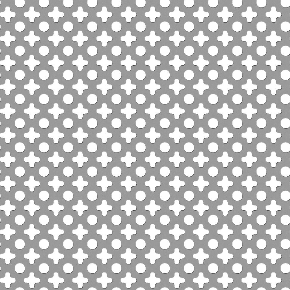 Cad I Bim Objekat Gantois Dec 1d Perforated Metal Shader