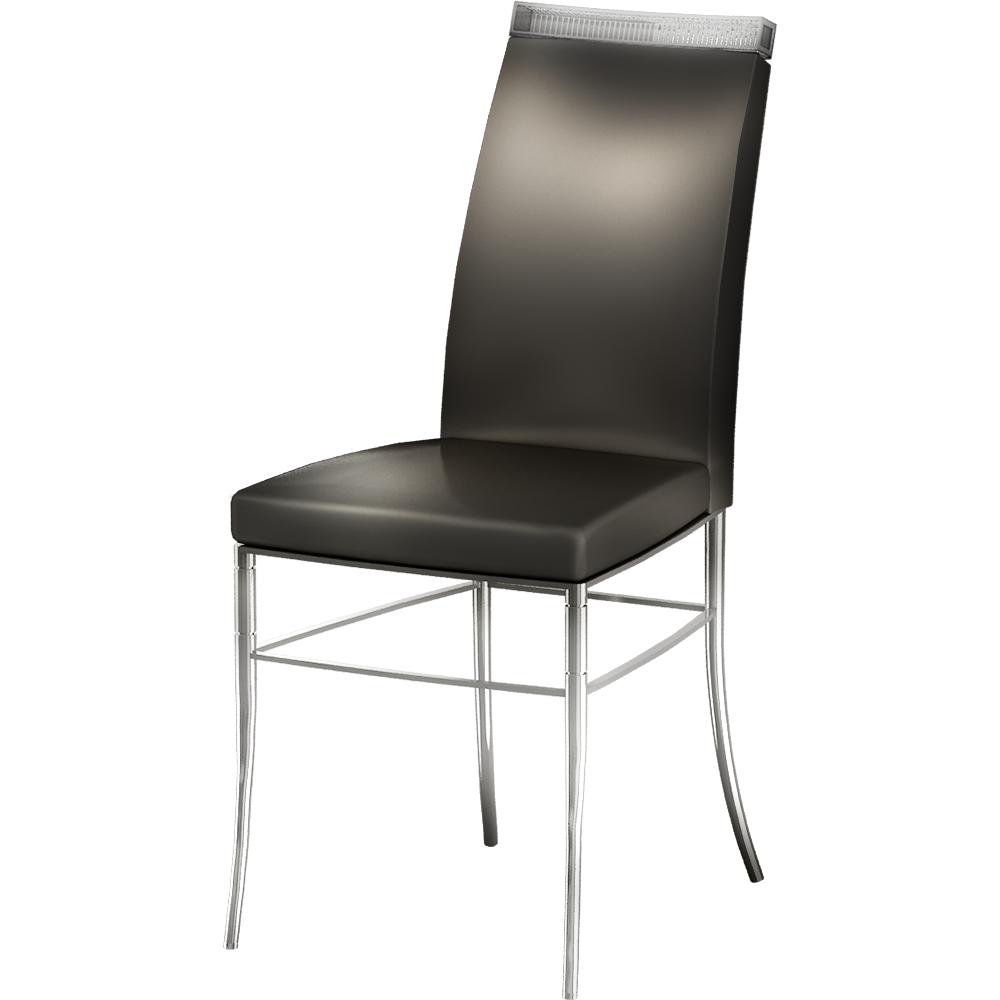 Slate Chair  3D View