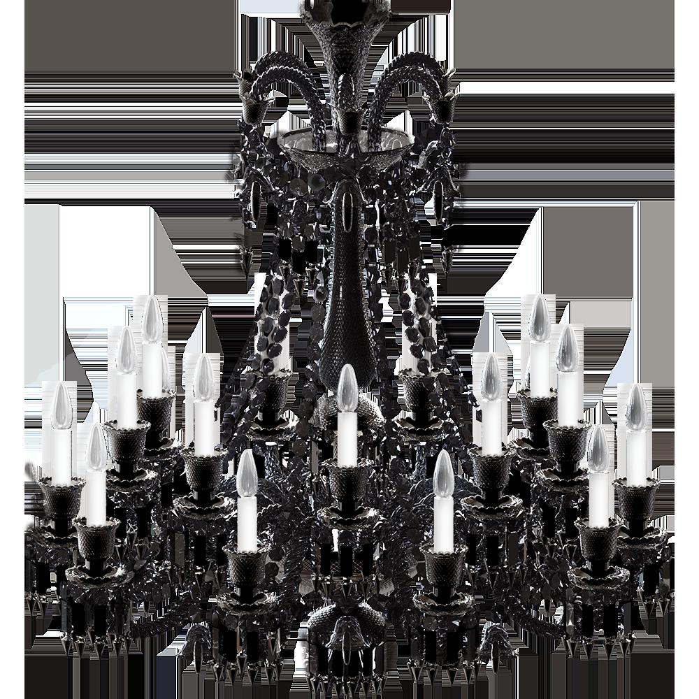 Lustre Zénith Noir 18L