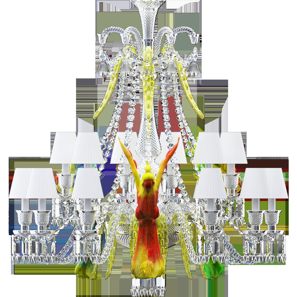 Cad and bim object zenith sur la lagune chandelier with parrots zenith sur la lagune chandelier with parrots 15lback arubaitofo Gallery
