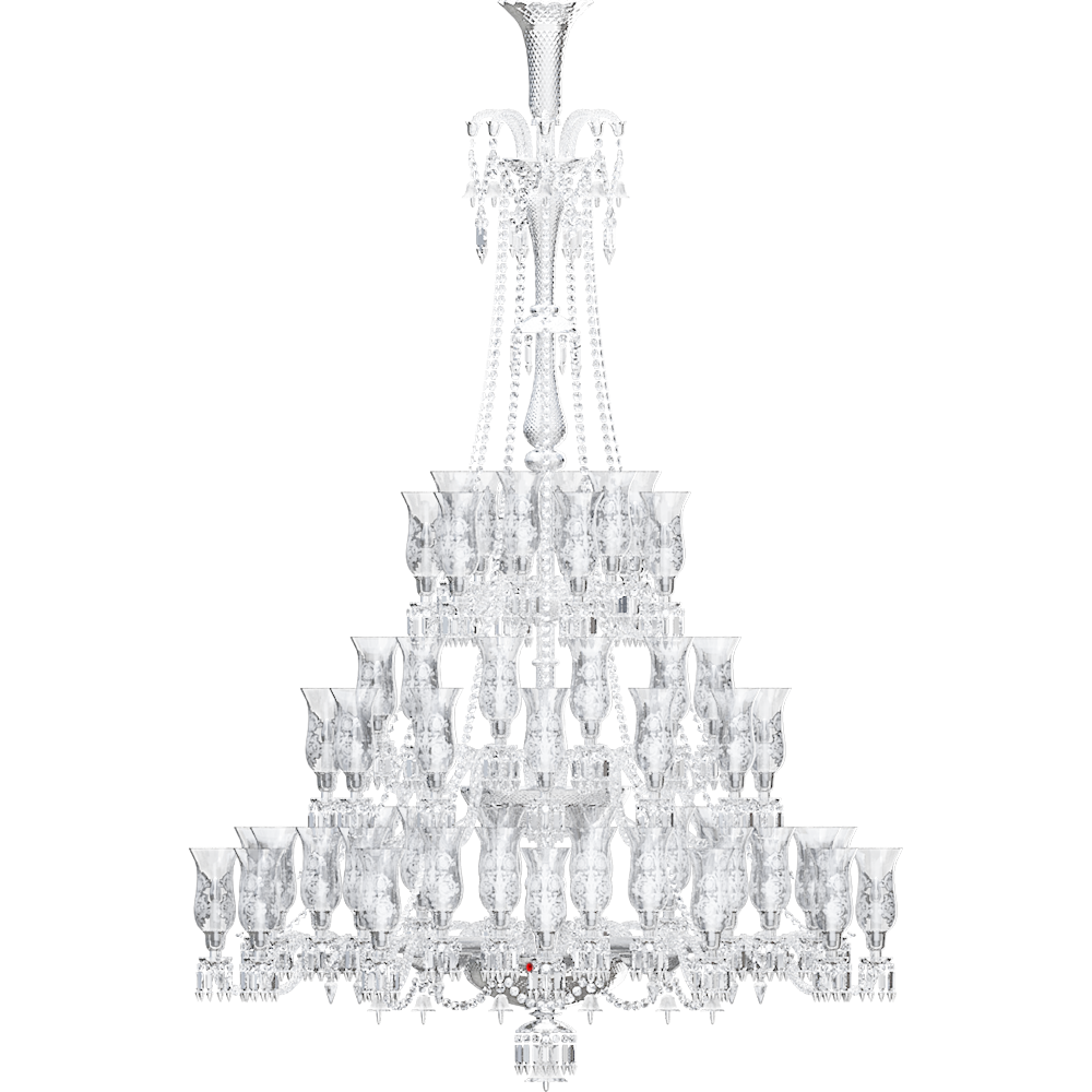 Cad And Bim Object Zenith Chandelier 84l Baccarat