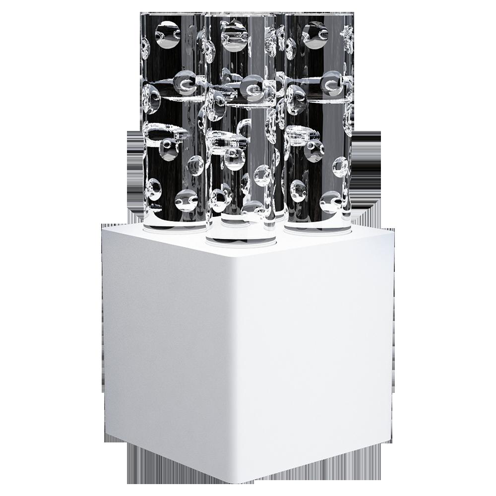 White round shape cut 4L Jallum candlelight