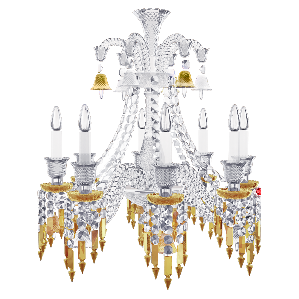 Zenith Charleston Chandelier 8L