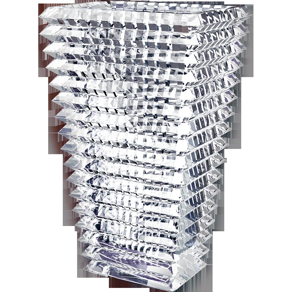 Eye vase clear crytal