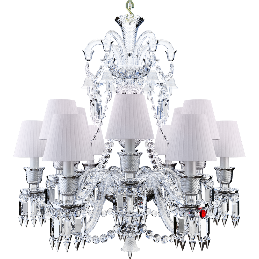 Zenith Chandelier 12L  3D View