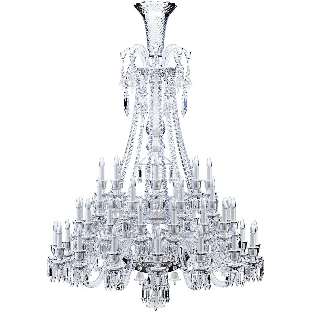 Zenith Chandelier 48L  3D View