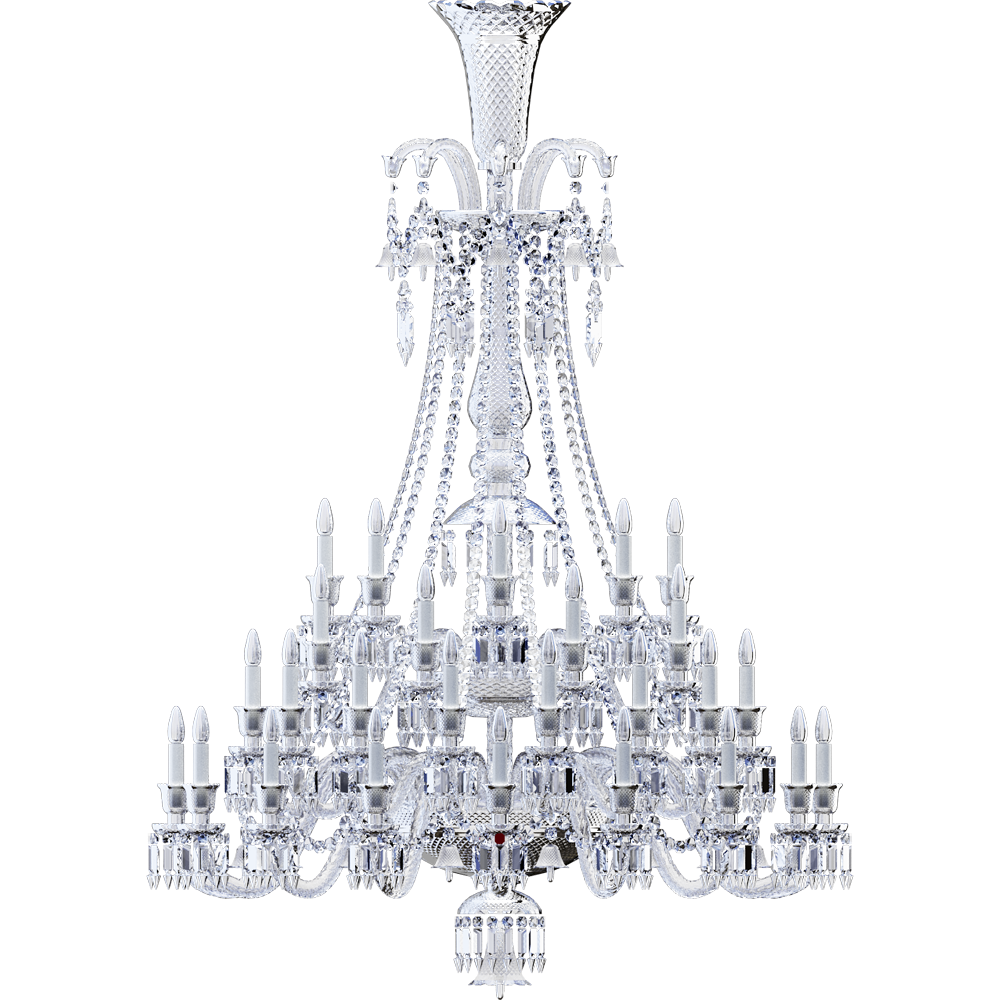 Zenith Chandelier 48L  Back