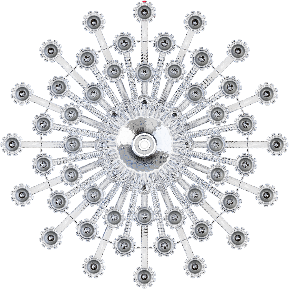 Zenith Chandelier 48L  Top