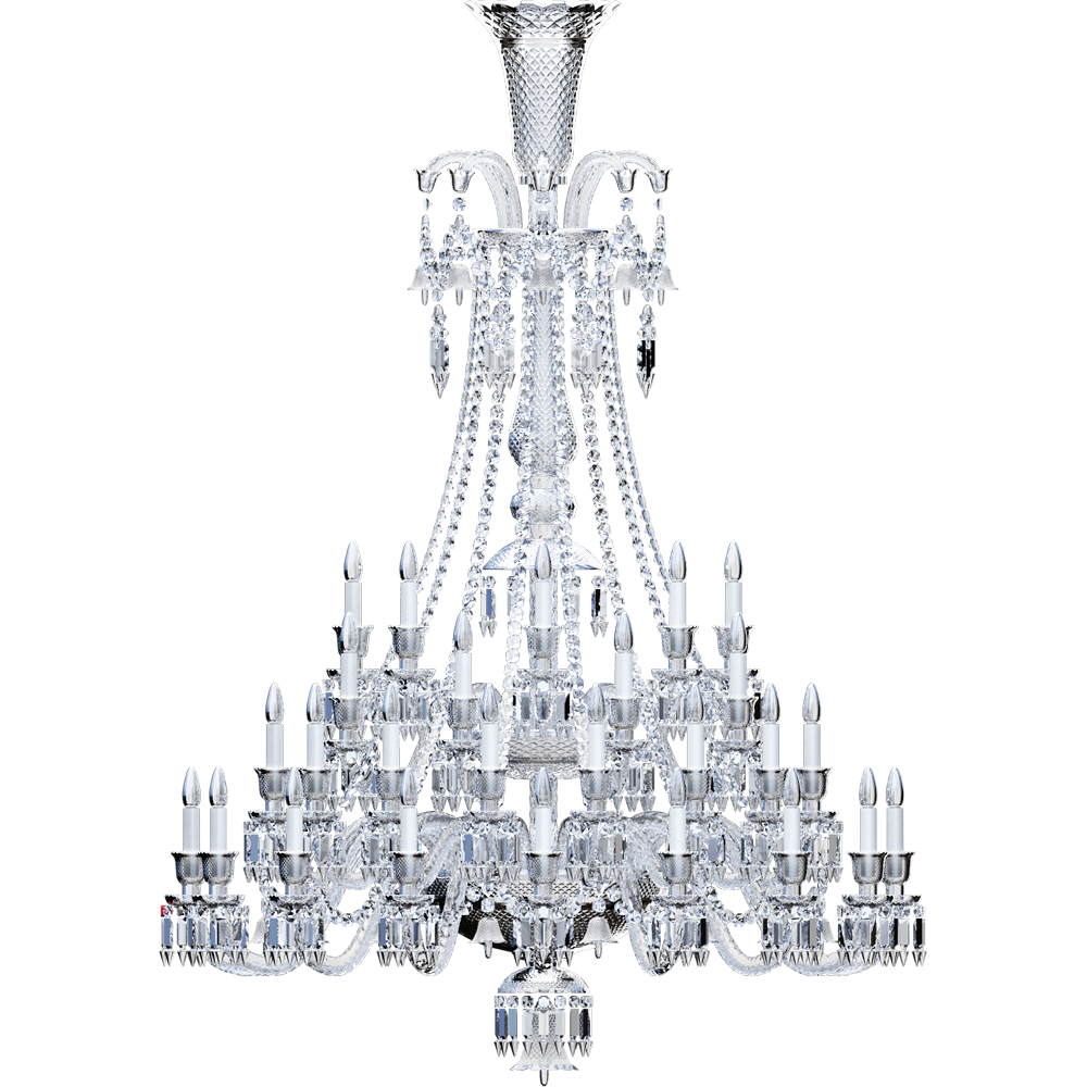 Zenith Chandelier 48L  Left
