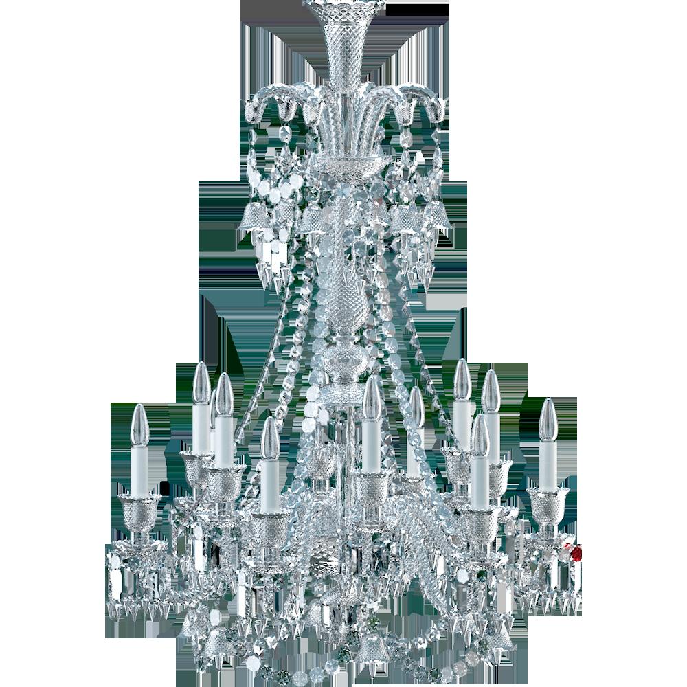 objeto bim y cad zenith chandelier 12l long baccarat. Black Bedroom Furniture Sets. Home Design Ideas