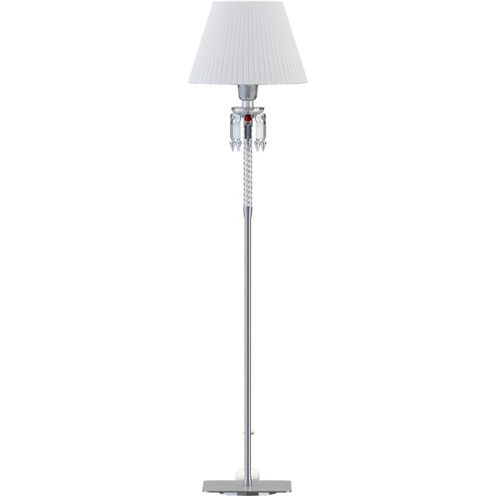 Torch Small Floor Lamp White lampshade