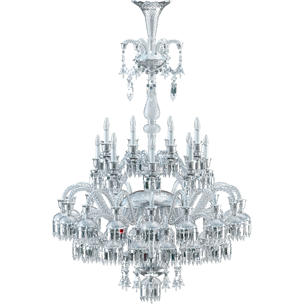 cad and bim object solstice chandelier 48l baccarat. Black Bedroom Furniture Sets. Home Design Ideas