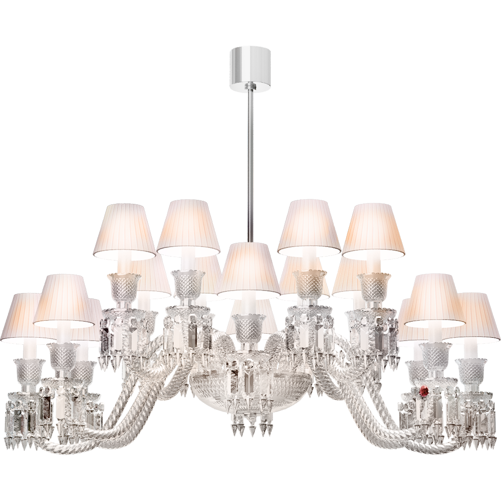Baccarat free cad and bim objects 3d for revit autocad sketchup ellipse chandelier 16l arubaitofo Images