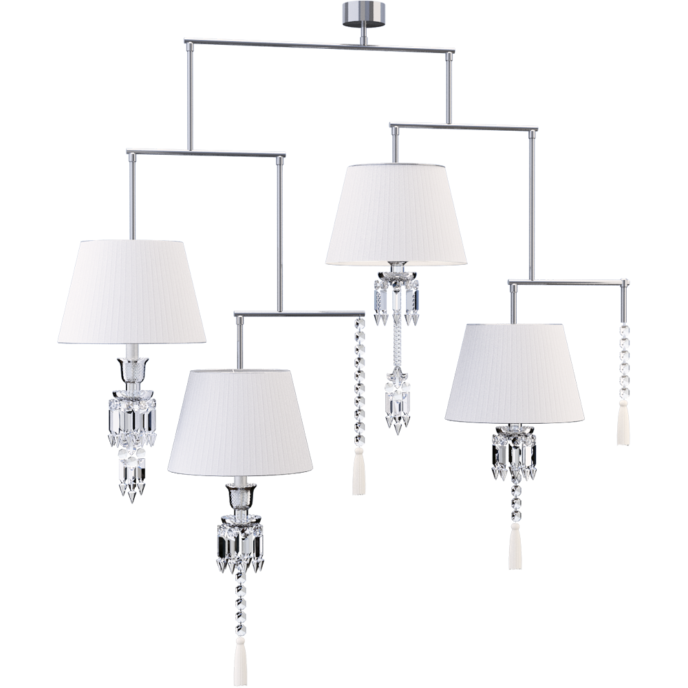 Torch Chandelier Mobile 4L