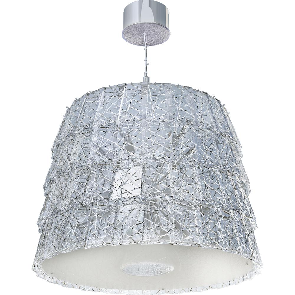 Tuile de Cristal Chandelier Medium size Frozen