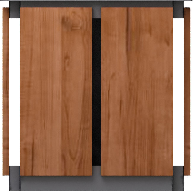 cad and bim object jardiniere en bois moshi aubrilam. Black Bedroom Furniture Sets. Home Design Ideas