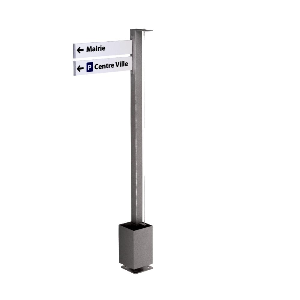 HEDERA Signage mast