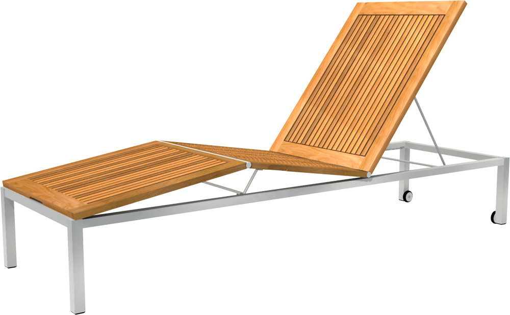 Nexus Lounger  3D View