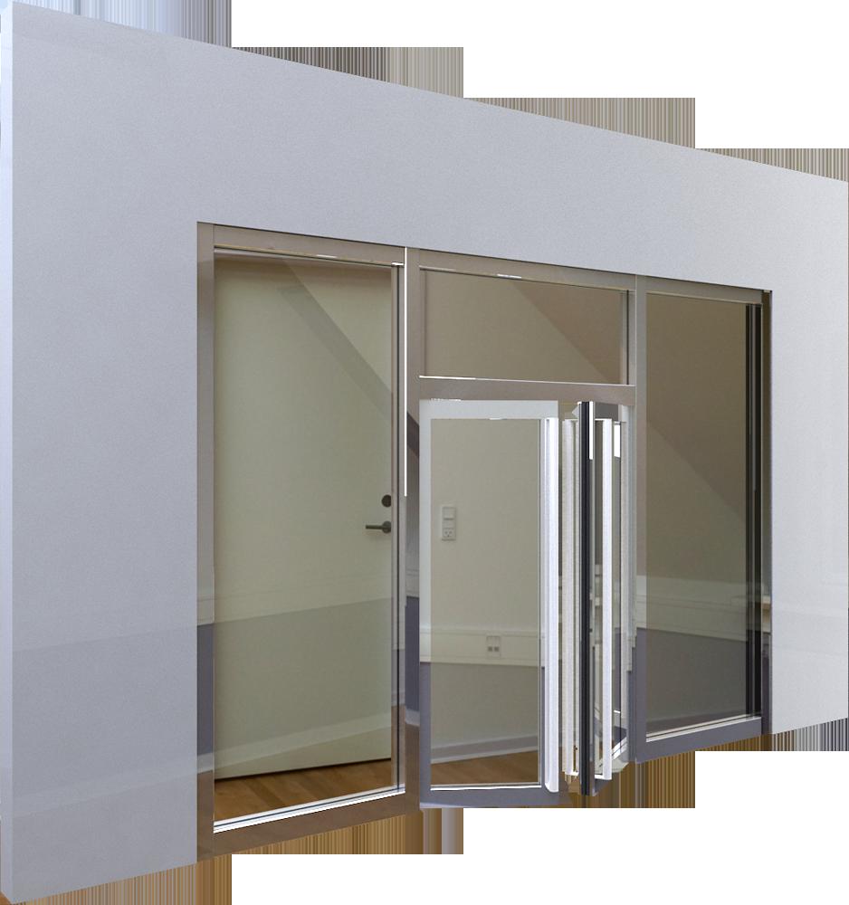 Porte isoplane vitree porte coulissante nagano weng vitr for Porte isoplane 60 cm