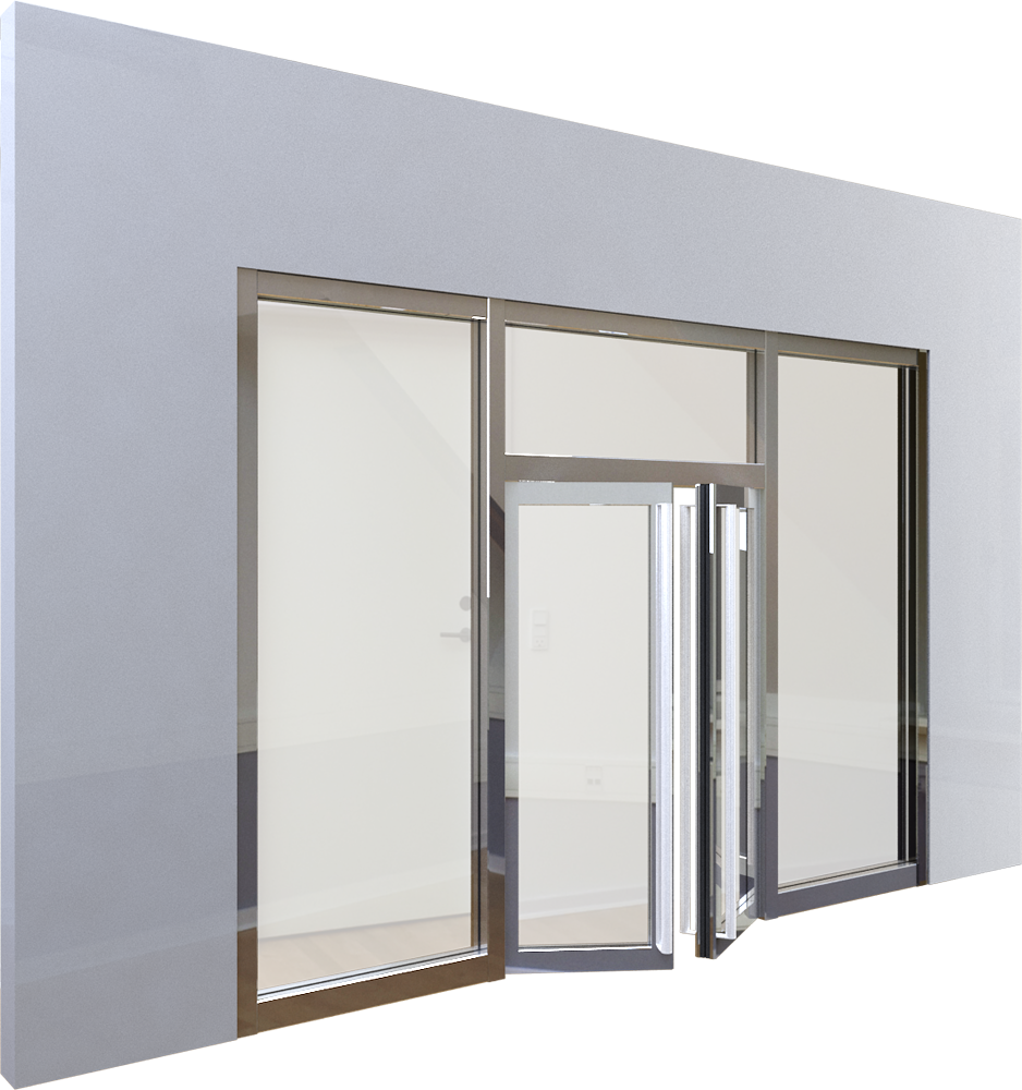 objets bim et cao porte vitree ei60 neo 2vantaux boullet. Black Bedroom Furniture Sets. Home Design Ideas