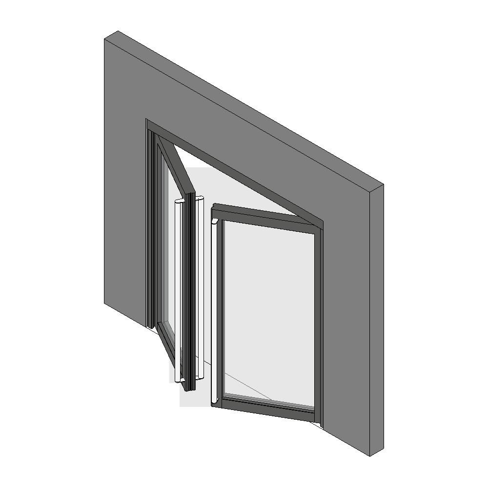 cad and bim object porte vitree ei60 neo 2 vantaux. Black Bedroom Furniture Sets. Home Design Ideas