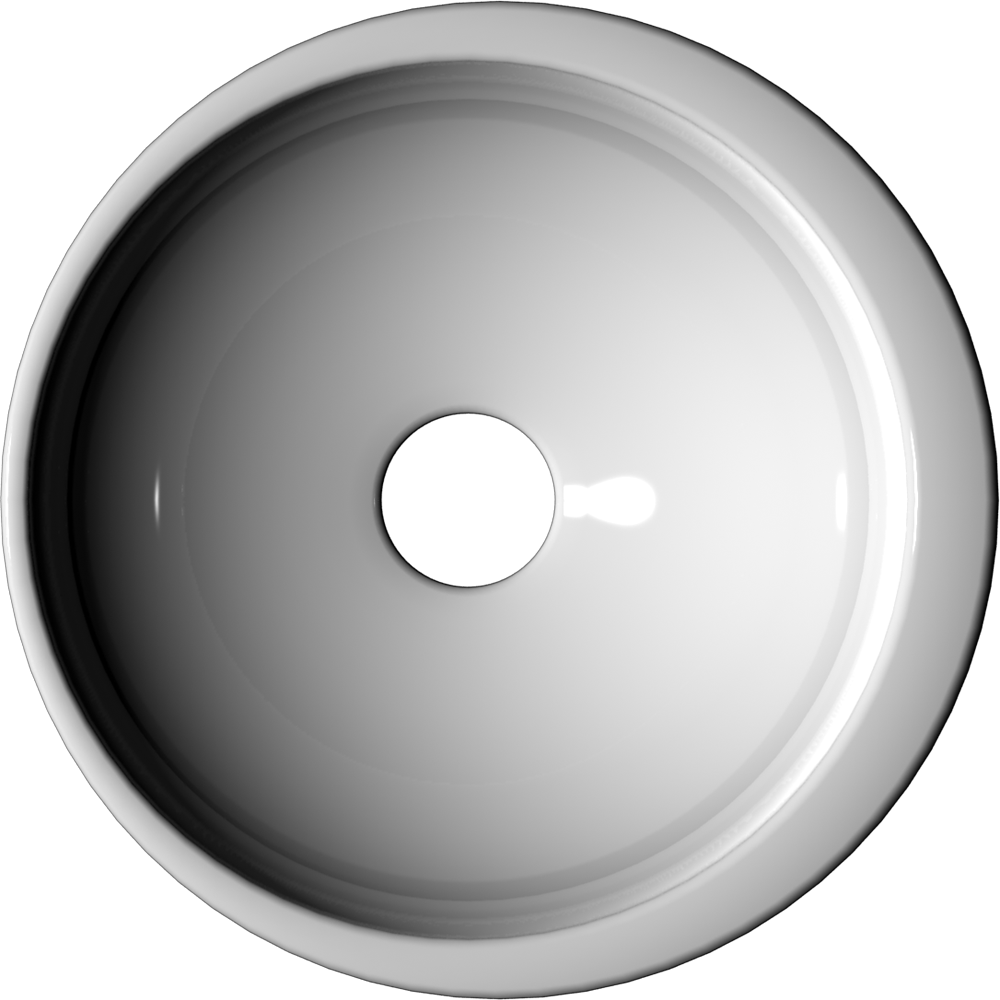 VANITY Round Bowl 32 cm  Top