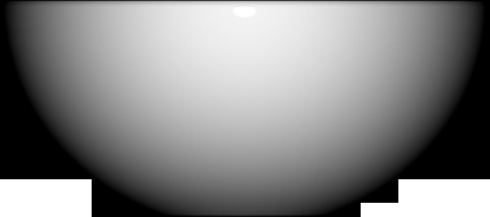 VANITY Round Bowl 32 cm  Right