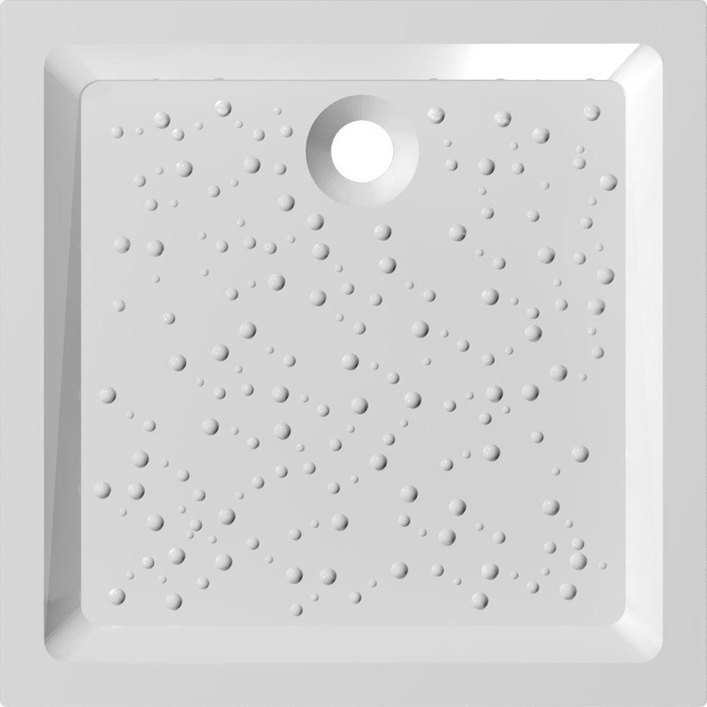 PRIMA 90x90 Shower Tray  Top