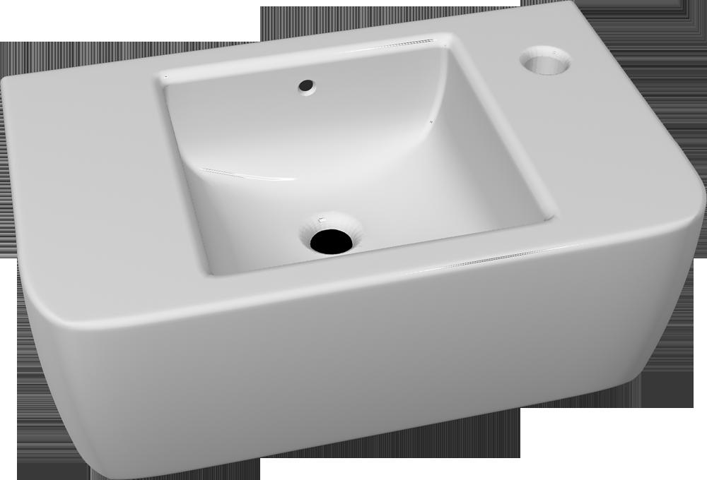 Prima Wash Hand  3D View