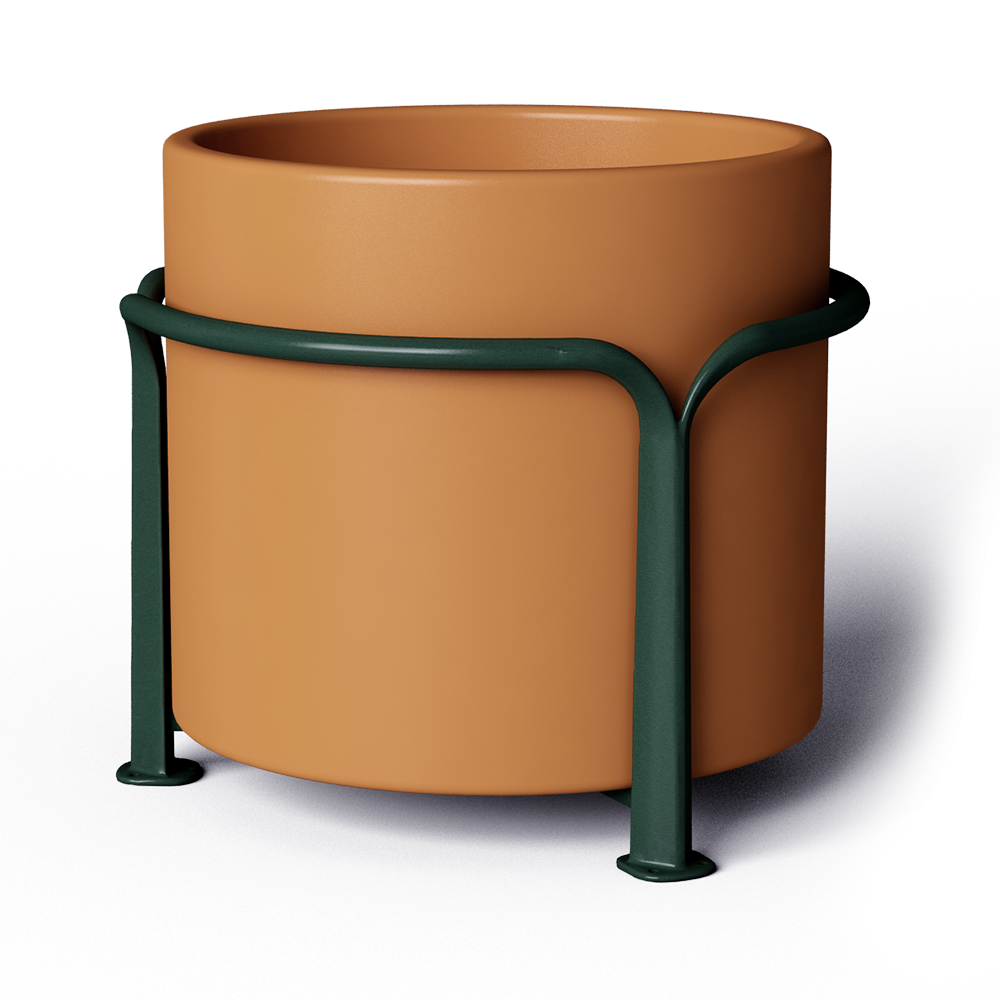 Cad and bim object mobilier urbain poa pot 500 l axurbain for Mobilier