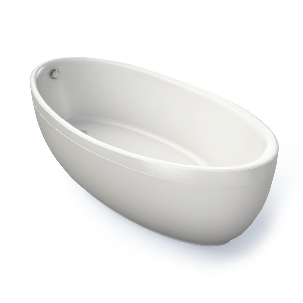 Aveo Bath Special shape  3D View