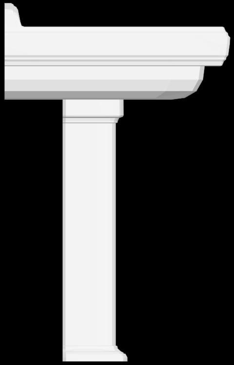 Hommage Washbasin  Left