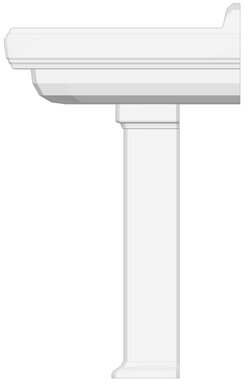 Hommage Washbasin  Right
