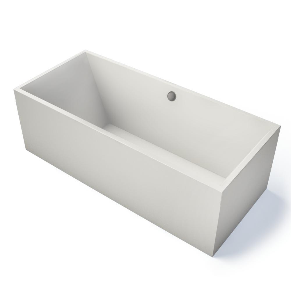Squaro Bath Rectangular  3D View