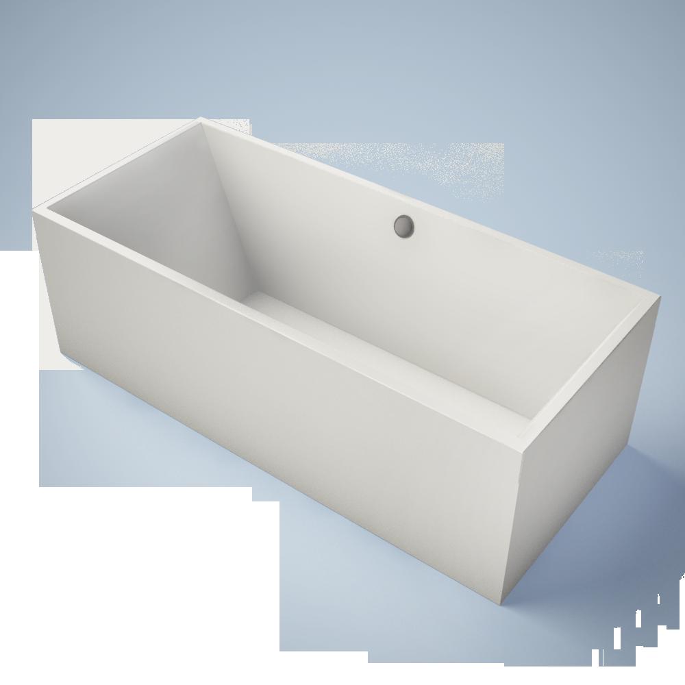 Squaro Bath Rectangular  3D View
