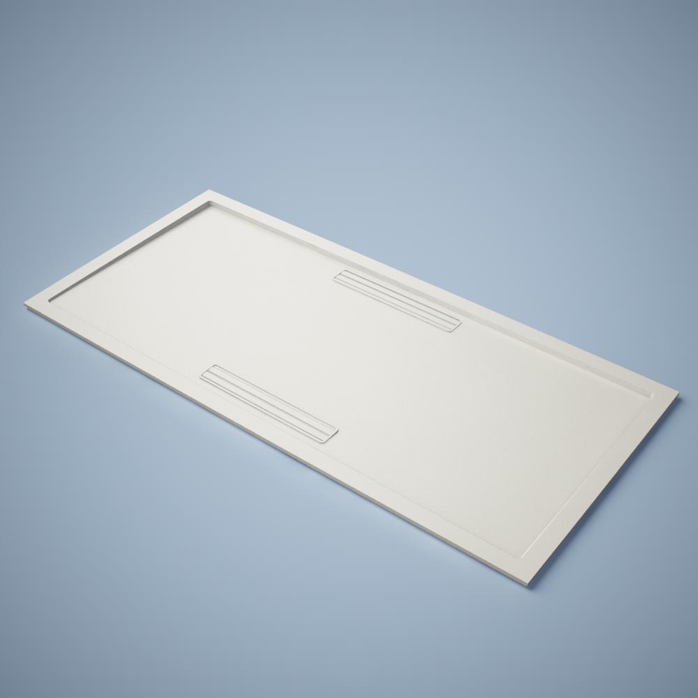 Squaro Shower Tray Rectangular  3D View