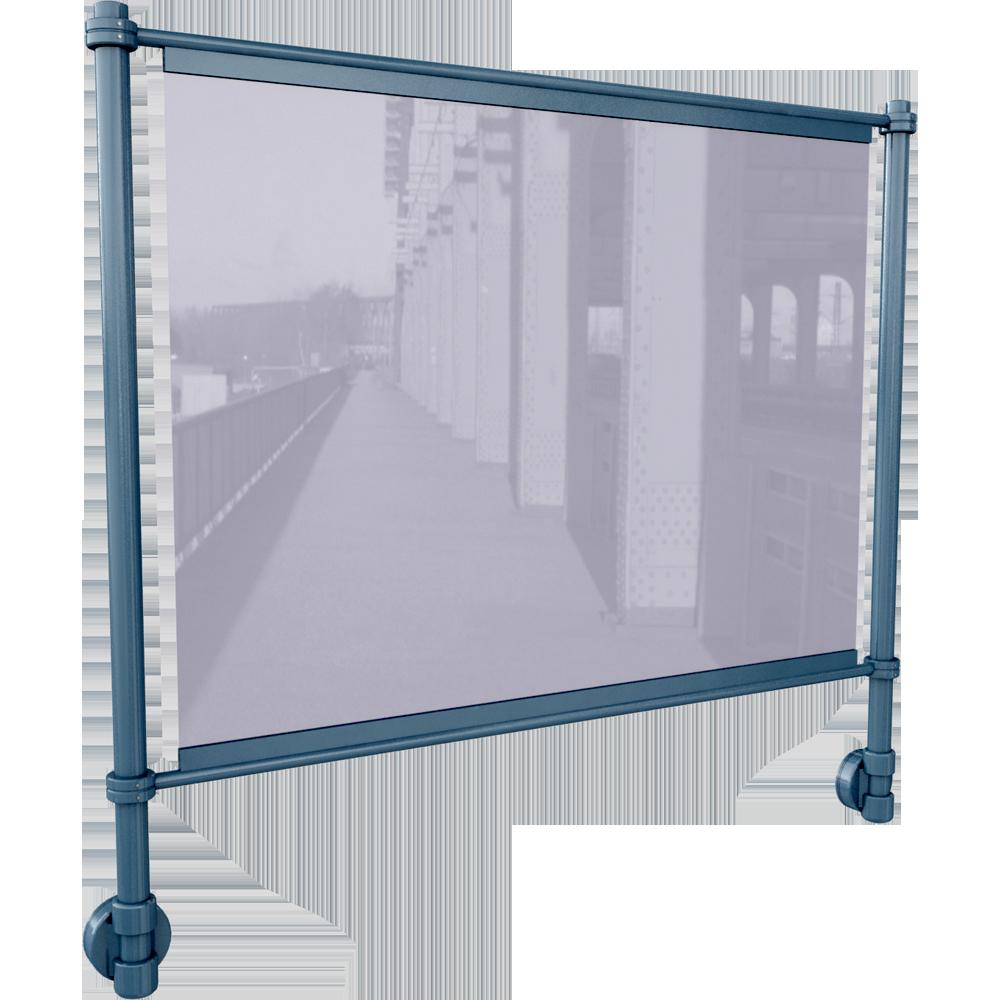 cad and bim object veraline entre lisses en lateral. Black Bedroom Furniture Sets. Home Design Ideas
