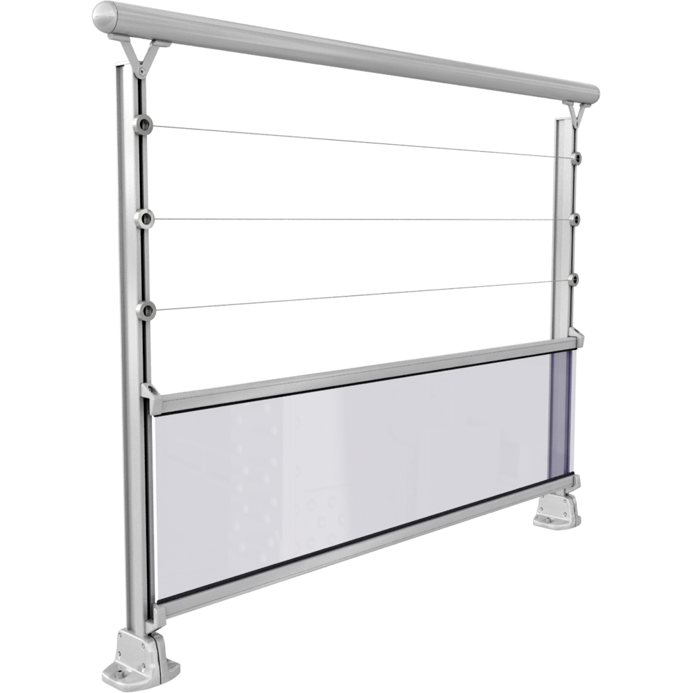 bim rivacable avec remplissage verre a plat sabot 2. Black Bedroom Furniture Sets. Home Design Ideas