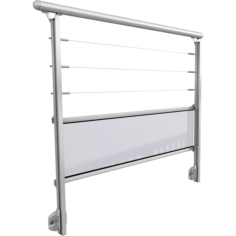 bim nesne rivacable avec remplissage verre en lateral. Black Bedroom Furniture Sets. Home Design Ideas