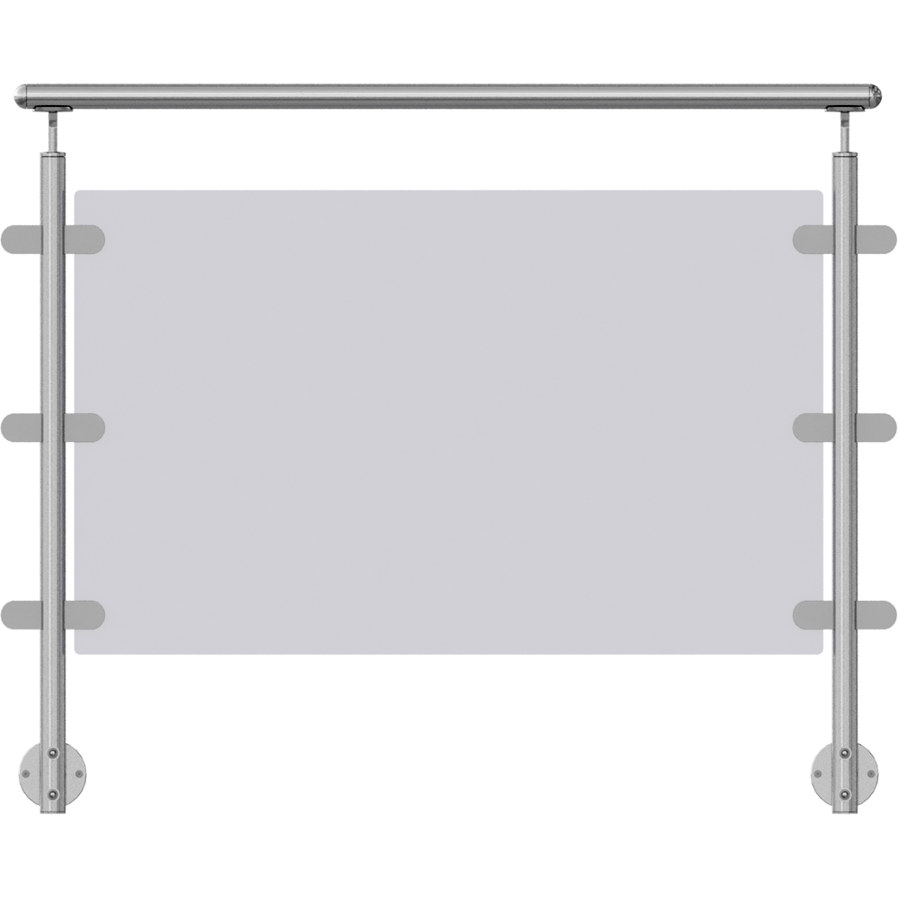 obiekt bim orinox verre en lateral sabot 2 points. Black Bedroom Furniture Sets. Home Design Ideas