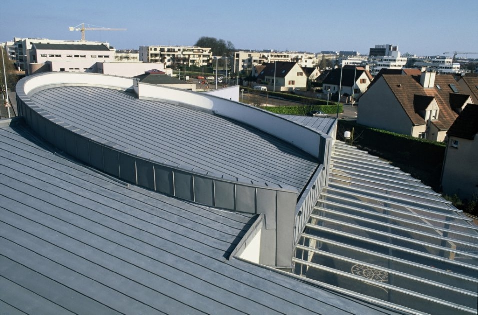VMZINC® Structural roof  3D View