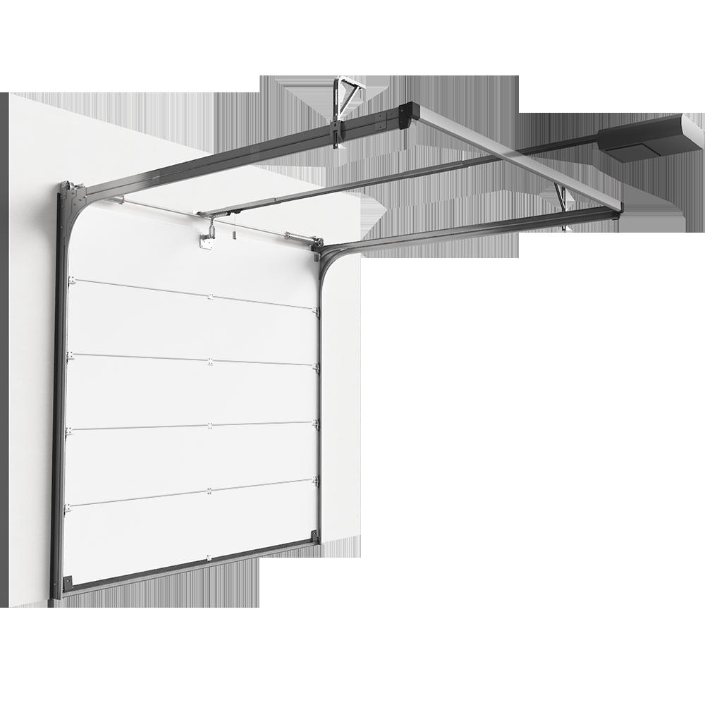 Objets bim et cao porte sectionnelle superior plus for Porte 3d dwg