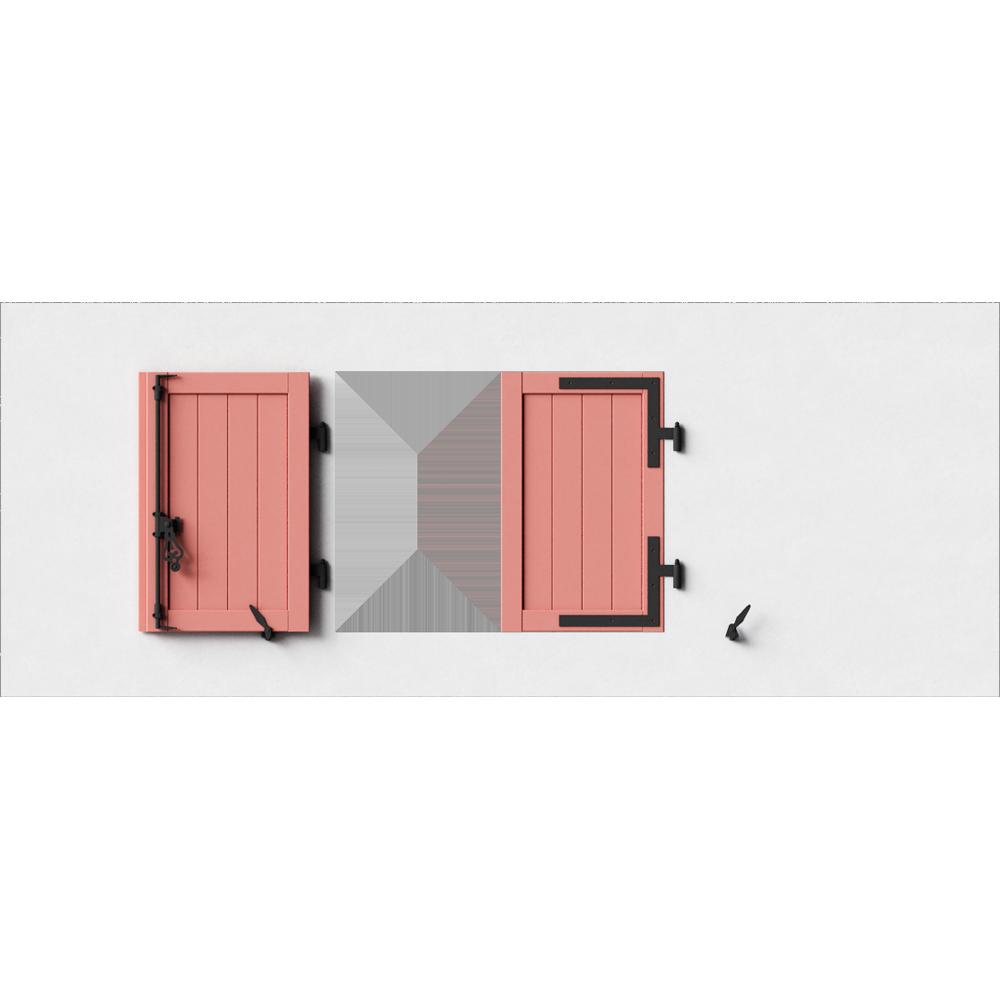 objets bim et cao cadre persienne bois remplissage panneau frises verticales 2 vantaux. Black Bedroom Furniture Sets. Home Design Ideas
