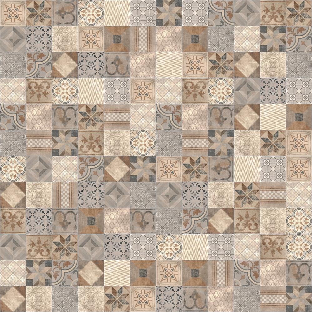 CAD- und BIM-Objekte - Dalle Jardin Design Mosaic Arabica - Marlux